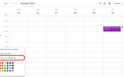 Cómo vincular mi Google Calendar a mi calendario en RUBIKO